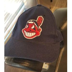 Vintage Cleveland Indians Snapback hat by Puma